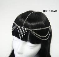 Dazzling Crystal Cascaded Head Chain