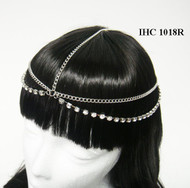 Sparkling Crystal-Linked Head Chain