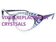 Replacement Crystal Kit for Vixen Cateye Glasses