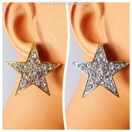 Crystal Twilight Star Earrings