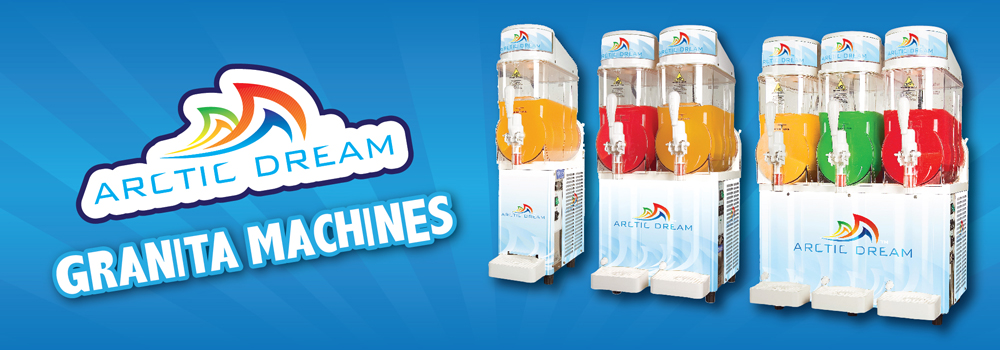 Arctic Dream Slushie Machines - 1, 2 or 3 Bowls
