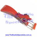 Red Short Asian Handle with spring