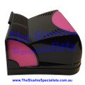 CAB Faby Lid - Complete Front Half Black/Pink