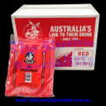 Red Spoon Straw Box (Qty 2500)