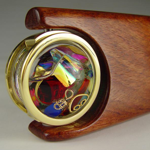 Henry Bergeson Moontide oil cell kaleidoscope