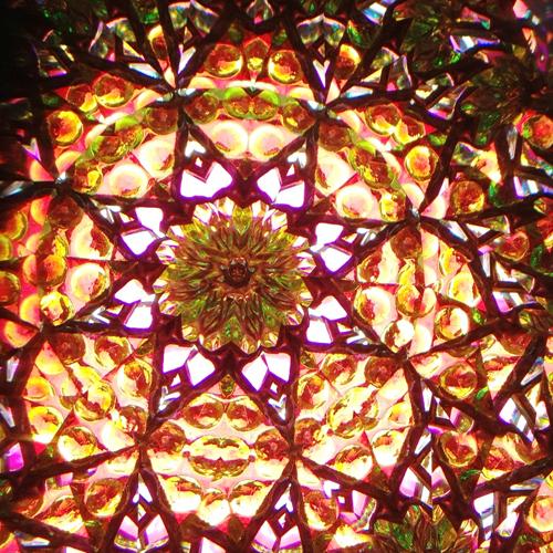 three-mirror, 8-point mandala