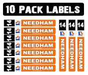 Get the Best Value in the 10 Pack of Stick Labels. Ideal for your game stick, backup stick & mini-stick!