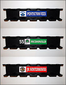Custom decal comes applied to your rack. Player or team customization available.