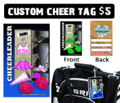Pre-Order and pick up your tag at Cheer Fest at the Stinky Locker table.