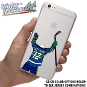 Customize your cell phone case with our peel and stick Celly Decals. Choose your jersey color with your name and number.