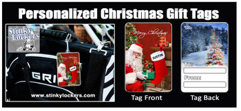 Personalized your own Christmas Gift Tag! Put his or her name right on the gift tag!