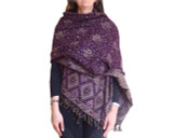 Women's Shawl Wrap in Purple
