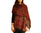 Women's Shawl Wrap in Red