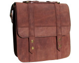 Leather Messenger Bag - Artisan Pro 2 - Tan