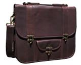 Hunter Leather Messenger Bag Nomad X - Walnut