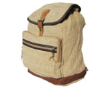 Organic Hemp Daypack Backpack - Natural Organic Fabric Rucksack