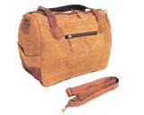 Organic Handbag Hemp Fabric Shoulder Bag Eco-friendly Bronze