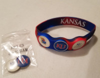 Kansas University Jays Wristskins