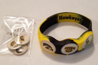 IOWA Hawkeyes wristskin golf ball marker bracelet