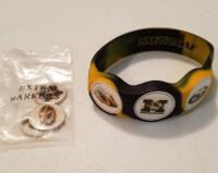 Missouri Mizzou Tigers wristskins golf ball marker bracelet