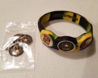 US ARMY Wristskins golf ball marker bracelet