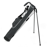 orlimar pitch and putt lightweight stand bag, slate grey