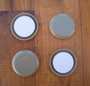 """Slydeez - floor protection, 1.75"""" diameter, 4 pack"""