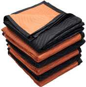 "Moving Blanket - 72"" x 80"", medium weight, 2 color, 6 pack"
