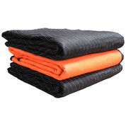 "72"" X 80"", Heavy Weight-2 Color Moving Blanket, 3-Pack"