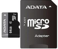 Micro SD 64GB Retail Packing