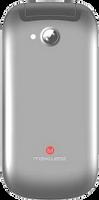 Maxwest 3G Flip Phone New Unlocked (Silver)