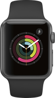 Apple watch Series 1  38mm (Space Gray Aluminum) New