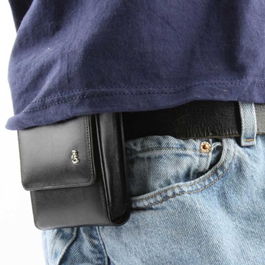 M&P Shield 9mm Sneaky Pete Holster (Belt Loop)