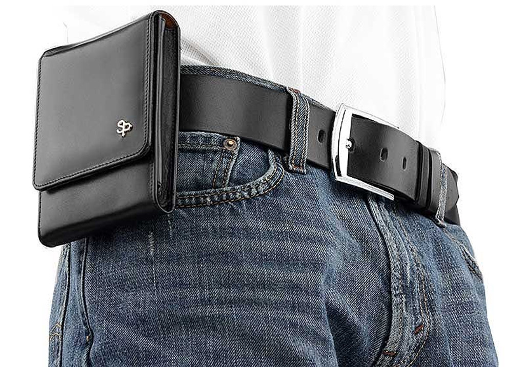 Kahr PM9 Sneaky Pete Holster (Belt Loop)