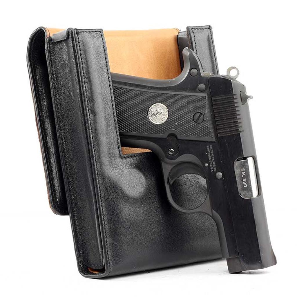 Colt Mustang Pocketlite Sneaky Pete Holster (Belt Loop)