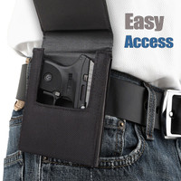 AMT Backup .380 Sneaky Pete Holster (Belt Clip)