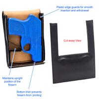 Glock 42 Sneaky Pete Holster (Belt Clip)