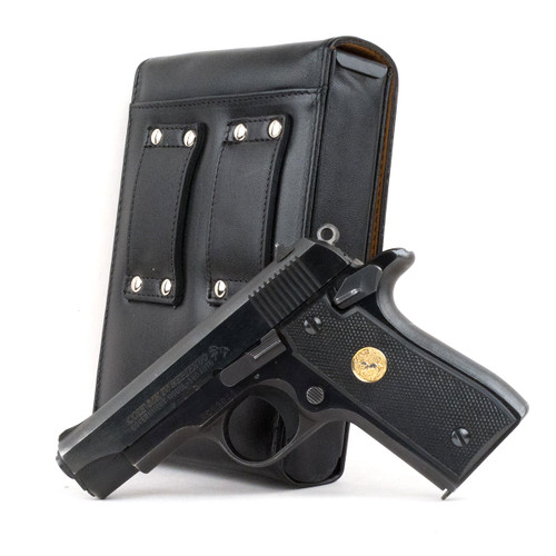 Colt Mark IV Series 80 (.380) Sneaky Pete Holster (Belt Loop)