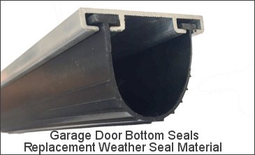 Garage Door Seal Replacement Material