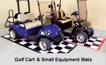 Motorcycle and Golf Cart Mats
