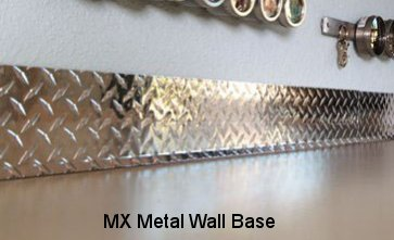 Stainless Steel, Aluminum Wall Base