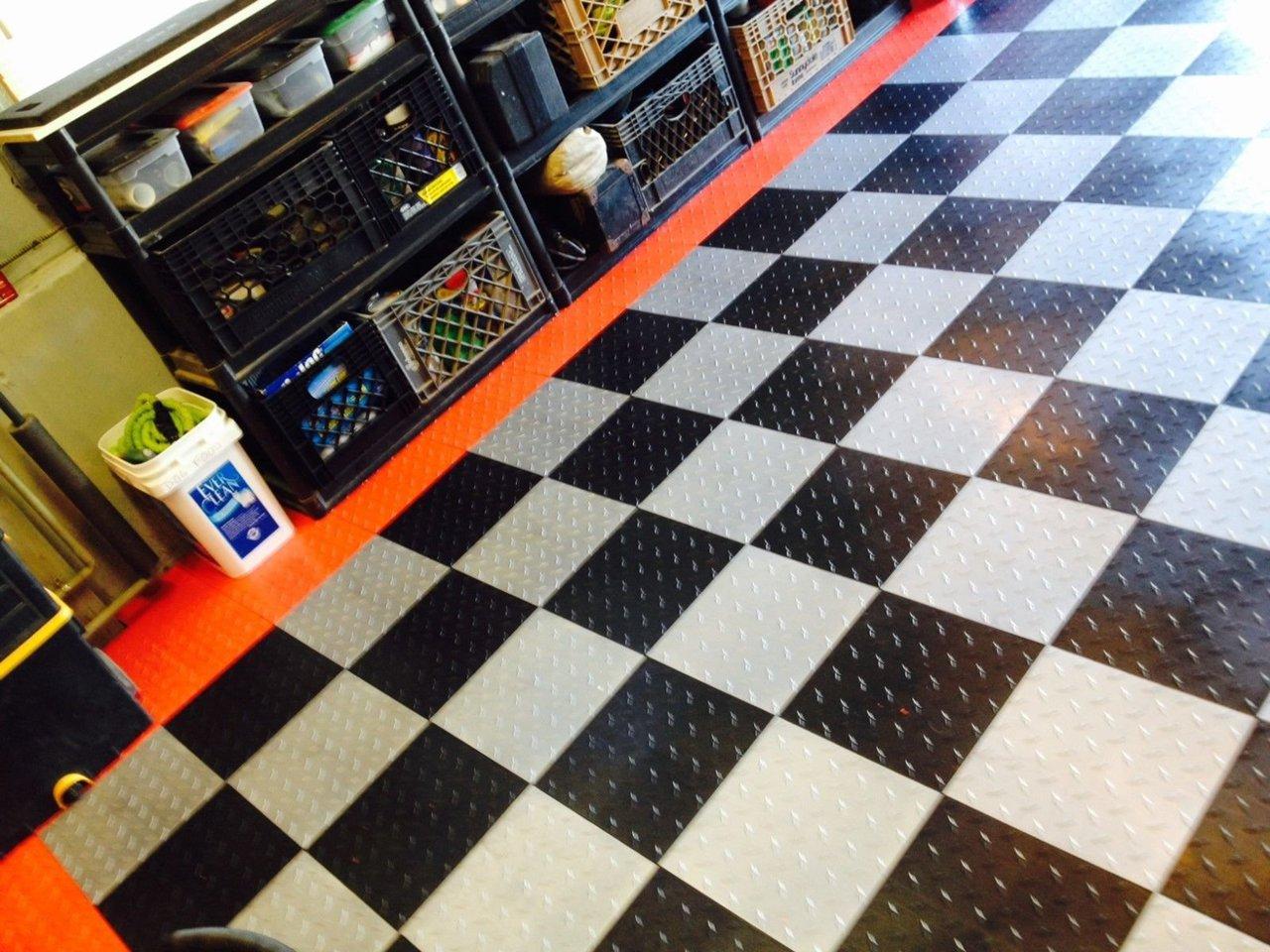 Swisstrax garage floor tiles