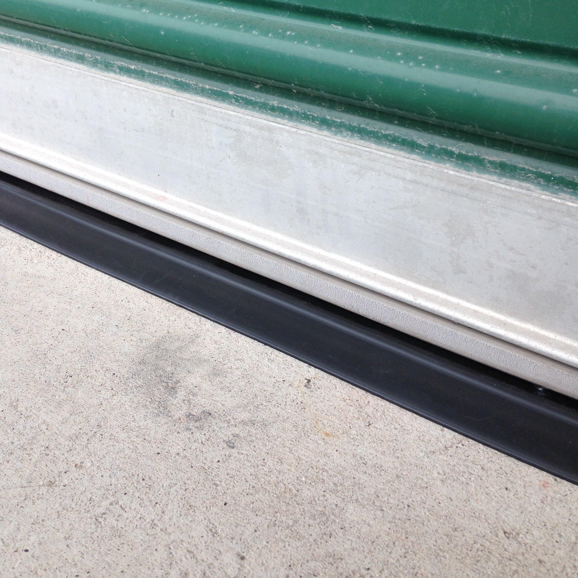 Overhead door threshold tsunami seal garage door for Door threshold