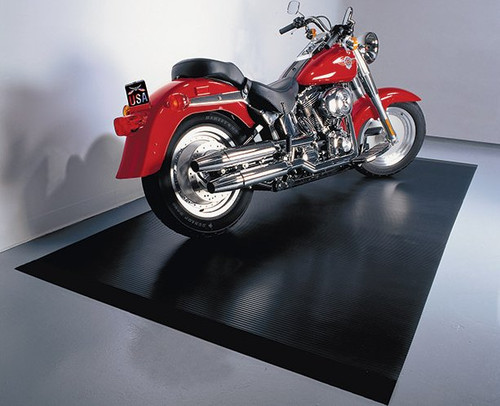 Motorcycle Parking Mat 5 X 10 Standard Made In Usa