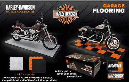 Race Deck Harley Davidson Tiles Kit Harley Davidson