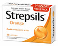 Strepsils Orange 36 Lozenges