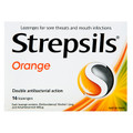 Strepsils Orange 16 Lozenges