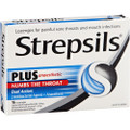 Strepsils Plus 16 Lozenges