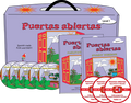 Puertas Abiertas Spanish curriculum for kids with DVD videos, CDs, workbook, and guide