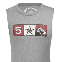 FIVE STAR MONKEY MUSCLE TEE